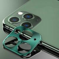 10шт для Iphone 11 Pro Max сплава металла объектива камеры Protector закаленное защитное стекло пленка с розничной упаковке