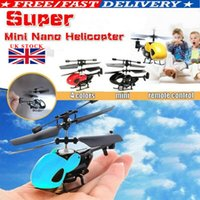 Helicóptero teledirigido de radio de RC Aviones Mini Micro Controlador regalo de los juguetes de los niños