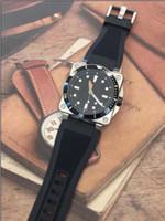 Outdoor BR 03072 Diver Mens orologi meccanici automatici meccanici in edizione limitata orologi sportivi da uomo con cinturino in gomma nera