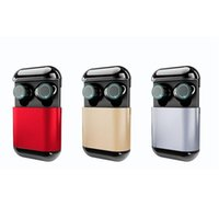 S7 Mini Twins Bluetooth 5.0 Słuchawki TWS Earbuds Słuchawki Bluetooth Prawdziwe Stereo Sporty Słuchawki Słuchawki Z Mikrofonami Ładuje DHL