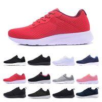 nike roshe run Tanjun Run Ayakkabı erkekler kadınlar siyah düşük Hafif Nefes Londra Olimpiyat Spor Sneaker Trainer boyutu 36-45 Koşu