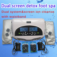 Der Dual-Screen-Detox-Fußbad reduziert Stress, verbessert den Gedächtnis und den Schlaf, die Leberentgiftung zum Verkauf