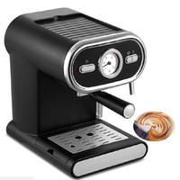 BEIJAMEI Fabrik Espressomaschine Hause Kaffeemaschine 1000 Watt Kommerziellen Dampf Typ Milchaufschäumer Wassertank 1L