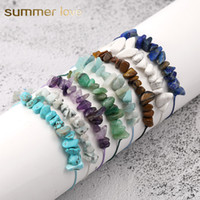 New Fashion Irregular Natural Gravel Charm Bracelets for Wom...
