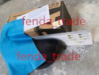 La meilleure qualité noire de cas tissu propre bleu Portatives Fermeture éclair de soleil Clam Shell Hard Case Protecteur Lunettes de soleil cas 5pcs / set MOQ = 5 jeux