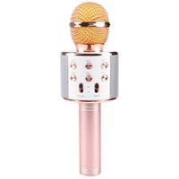 New WS858 Portable Bluetooth Karaoke Microphone Wireless Pro...