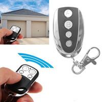 범용 원격 제어 복사기 복사 코드 4 채널 복제 키 송신기 전기 홈 차고 자동차 문 열기, 무선 컨트롤러에 대한