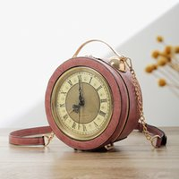 Fashion Women' s Bag 2020 New Clock Styling Chains Bag L...