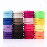 50pcs Set Girls Colorful Nylon Small Elastic Hair Bands Chil...