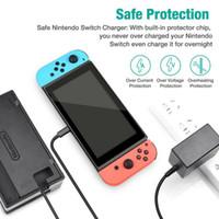 Hızlı Nintendo Geçişler İçin Şarj Güç Kaynağı Adaptörü AC C Tipi Şarj kablosu