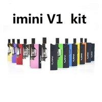 100% Authent Imini V Thick Oil Cartridges Vaporizer Kit 500mAh Box Mod Battery 5 0 Thread Liberty Tank Wax Atomizer Vape Pen Starter Kits