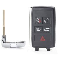 Atualizado remoto Shell Key Fob caso de Jaguar 5 Botão FCC ID KOBJTF10A