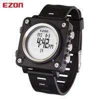 EZON L012 Мужская мода Повседневный Square цифровые часы спорта на открытом воздухе Водонепроницаемый Многофункциональный секундомер компас часы