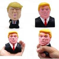 Дональд Трамп стресса сожмите мяч Джамбо мягкие игрушки декор выжать весело шутки реквизит подарок игрушки крутую новинку ReliefKids давления куклу TTA202