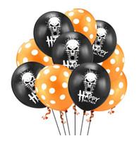 10pcs 12 pulgadas decoraciones del partido de Halloween globos de cumpleaños globos Fotografía manera de la decoración de calidad superior inflable bolas de aire libre Sh