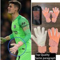 Горячие продажи футбольных вратарских перчаток футбольного Predator Pro Тот же пункт Высокое качество Защитите зоны производительности пальцев техники размером 8-10