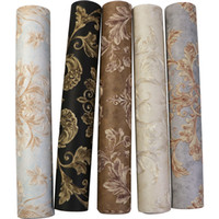 Good quality 3D European style wallpaper luxury high-grade Damascus non-woven room wall roll paper bedroom living room TV background