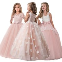 Elegant Formal Dress Girls Clothing Flower Girls Wedding Eve...