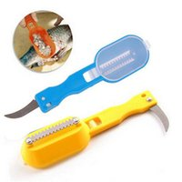 1Pcs Practical Fish Scale Remover Plastic Descaler Cleaning ...