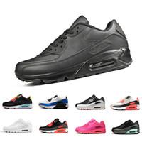35a5dc0a5e Classique Nouvelle Arrivée Hommes Femmes AIR Cushion 90 Essential  Chaussures de course respirantes Baskets Sport En
