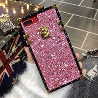 Роскошные Bling блеск телефон чехол для Iphone X XS MAX XR 7 7plus 8 8plus телефон оболочки задняя крышка для Iphone 6 6S 6plus 6splus площадь 100 шт.