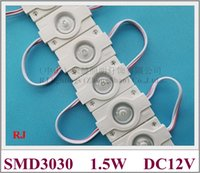 high bright waterproof injection high power 1. 5W LED module ...