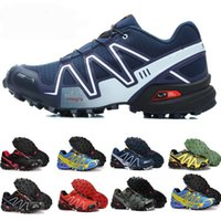 2018 NEW salomon Speedcross 3 CS III Jade Gelb Herren Laufschuhe Walking Ourdoor Zapatillas Crosspeed 3 Speed ​​Sportschuhe solomon CS