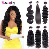 10A Mink Brazilian Virgin Hair Body Wave 3 Bundles Peruvian ...