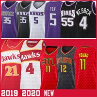 Trae 11 Junge NCAA Spud Webb 4 Jersey Dominique De'Aaron 5 Fox Wilkins Chris Marvin Bagley III Webber De'Andre Hunter Basketball