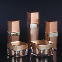 Kosmetische Verpackung Flaschen Acrylsahneglas 20G 30G 50G Airless Lotion Pumpsprühflasche 20ML 30ML 50ML