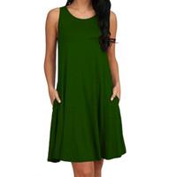 Yeni Moda Seksi Günlük Elbiseler Kadın Yaz Kolsuz Akşam Parti Plaj Elbise Kısa Şifon Mini Elbise BOHO Bayan Giyim Konfeksiyon CD32