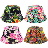 Women Floral Sun Hat Design Summer Beach Flower Canvas Booni...