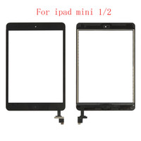 20Pcs für iPad Mini 1 2 A1432 A1454 A1455 A1489 A1490 A149 Touch Screen Digitizer + IC-Chip-Verbindungs ​​+ Home