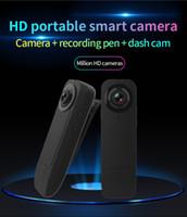 Full HD 1080P vision nocturne mini caméra DV portable vidéo numérique Caméra Police de sécurité Mini enregistreur mini-clip BOÎTIER A18 noir