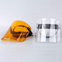 1PC di protezione regolabile Anti Droplet antipolvere Full Cover Maschera Visor Shield Droplet antivento Visiera lavabile