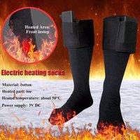 رشاقته أدفأ جوارب كهربائية حرارية الجوارب بطارية قابلة للشحن للنساء رجال الشتاء في الهواء الطلق التزلج ركوب الدراجات الرياضة سخن الجوارب