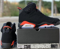 2019 black Infrared 6S VI 384664- 060 With Box legend UNC blu...