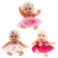 Simulation Pocket Baby Doll Transparent Ball Cute Toy Kids B...