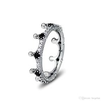 Compatible with Pandora jewelry ring silver Enchanted Crown ...
