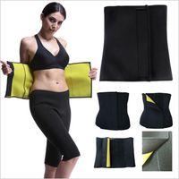 676a721e12 Hot Shapers Slim Waist Trainer Cincher Belt Neoprene Postpartum Tummy  Trimmer Shaper Vest Body Shaper Corset Girdle Shapewear Underwear 5058