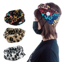 Protect Ears Face Mask Holder Button Headband Running Workou...