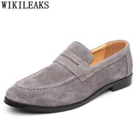makosenler erkekler biçimsel Erkekler ayakkabıları pria gelinlik heren schoenen üzerinde ofis klasik Sepatu slip Kuaför