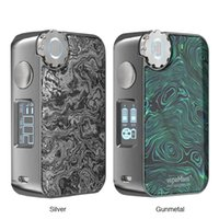 ECOFRI Gear Wireless Charging LED Box Mod Gear Box Mod LED screen Wireless Charging Dual 18650 batteries vape Original