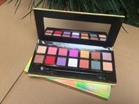 Бесплатная доставка ePacket Новый макияж глаз Горячие Марка Gold Box Eyeshadow Palette 14 Цвета Тени! Happy_mei