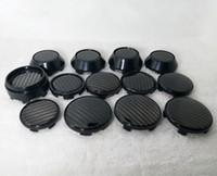 4 قطعة / الوحدة مركز العجلة قبعات غطاء غطاء عجلة غطاء ملصقات ل أشعة فوسن cv5 cv5 60 ملليمتر 63 ملليمتر 66 ملليمتر 68 ملليمتر أسود الكربون سيارة التصميم