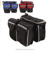 Bicicletas de montaña Cuatro bolsa bolso delantero del tubo en la unidad VELOTURISMO mis cosas con tapa