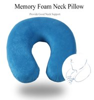 As Christmas Gift Soft U Shape Travel Neck Support Pillow to...