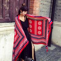Le donne Boho protezione solare Summer Long morbida sciarpa dello scialle delle sciarpe della stola dell'involucro Sciarpe