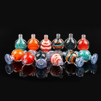 Colorful Glass Carb Cap Smoking Accessory For 25mm quartz ba...