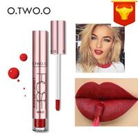 Nova Maquiagem CmaaDu Matte 6 Cores Batom Líquido À Prova D 'Água e Longa-duração Crânio Tupe Batons Lip Make up Lipgloss 3001318